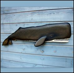 BALLENA de esperma talla en madera, arte náutico, decoración costera, decoración de Nueva Inglaterra, regalo náutico, playa casa decoración, decoración marítima 43 pulgadas
