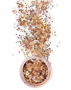 In Your Dreams Gold Lilith Chunky Glitter yew have struck treasure, bb. This glamorous glitter is beautifully formulated to place perfectly on yer face, body and hair for enchanting and whimsical shimmer.