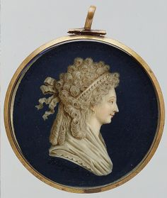 Marie-Thérèse-Charlotte (1778–1851), Daughter of Louis XVI Jacques Joseph de Gault (French)1795  Ivory