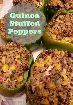 Healthy Recipes: Quinoa Stuffed Peppers #HealthyRecipes