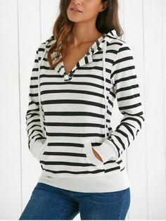 GET $50 NOW | Join RoseGal: Get YOUR $50 NOW!http://www.rosegal.com/sweatshirts-hoodies/long-sleeves-hooded-striped-hoodie-684233.html?seid=5328238rg684233