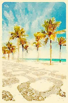 Watercolor by @aquaRIOcolor Rio de Janeiro - Brasil .All Rights Reserved ®