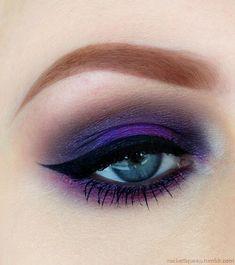 Smokey Purple Eyeshadow
