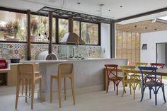 area gourmet (De Amanda Miranda Arquitetura)