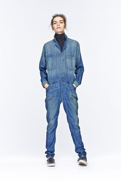6397 Pre-Fall 2015 - Collection - Gallery - Style.com #jeans #combinaison #jumpsuit