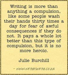 Quotable - Julie Burchill - Writers Write Creative Blog