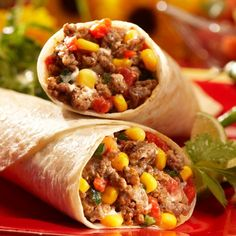 'Go To Dinner' for a summer night: Sante Fe Wraps #comfortfood #delmonte