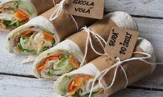 Tortilla wrap Tortilla Wraps, Fresh Rolls, A Food, Salads, Sandwiches, Snacks, Breakfast, Ethnic Recipes, Morning Coffee