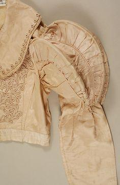 Spencer c1820 silk, willow (in sleeves)  Met