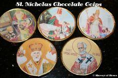 St. Nicholas Chocolate Coins: Catholic Cuisine