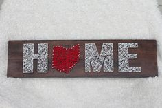 Home Ohio String Art Wood String Art by StringStreetBoutique