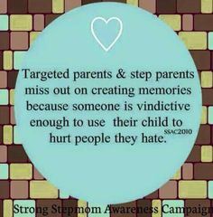 That's parental alienation folks