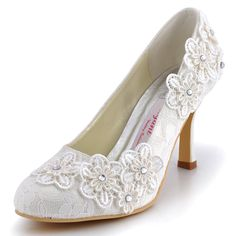 Amazon.com   ElegantPark Women Vintage Closed Toe Pumps High Heel Flowers Lace Wedding Bridal Dress Shoes   Pumps  https://www.amazon.com/gp/product/B00AZXOWOW/ref=as_li_qf_sp_asin_il_tl?ie=UTF8&tag=rockaclothsto-20&camp=1789&creative=9325&linkCode=as2&creativeASIN=B00AZXOWOW&linkId=a6b767460bdbb5089beea32ad9c21c59