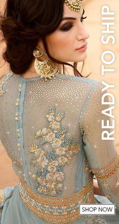Shop for designer salwar kameez with latest celebrity designs, including anarkali suits, dresses, lehenga cholis and sarees at great discounts only at Lashkaraa.com