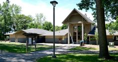 Tamarack Nature Center main building