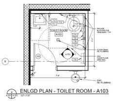 Ada Bathroom In Cad image result for ada toilet | anthropometric data | pinterest