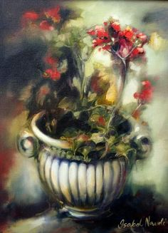 Isabel Naudé Flower Art, Art Flowers, South African Artists, Art Google, Painting Flowers, Paintings, Google Search, Nice, Colors