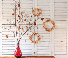 Fine Cinnamon Applesauce Ornaments As Table Decor For Christmas Event - Use J/K to navigate to previous and next images
