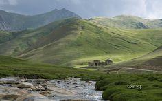 Tash Rabat , a 15th century caravanserai (roadside inn) on the ancient Silk Road, in the At Bashy Range, Kyrgyzstan