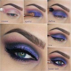Smokey Purple Cat Eye