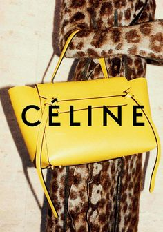 thefashionbubble: Céline Fall/Winter 2014 Advertising Campaign, ph. by Juergen Teller.