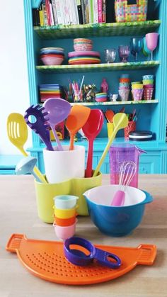 Rosti Mepal: Salatbesteck, Schöpflöffel, Kindergeschirr etc