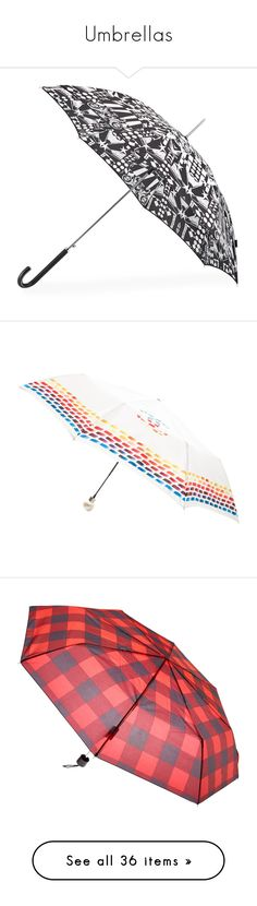 """""""Umbrellas"""" by ashleythesm ❤ liked on Polyvore featuring accessories, umbrellas, print umbrella, shedrain, shedrain umbrella, white, chanel, rainbow umbrella, multicolor umbrella and white umbrella"""