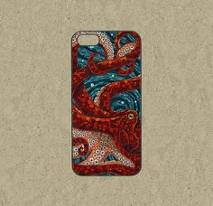 iphone 5c case,iphone 5c cases,iphone 5s case,cool iphone 5c case,iphone 5c over,cute iphone 5s case,iphone 5 case-Mosaic Octopus,in plastic by Ministyle360, $14.99