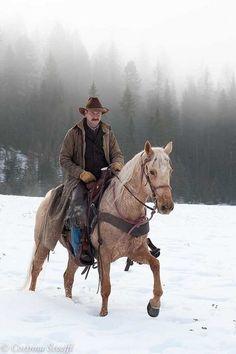 """Cowboy 7"" (Bar W Ranch, Montana) by Corinna Stoeffl:"