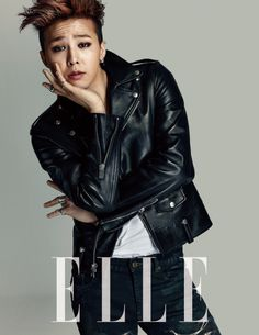 GUY CANDY: G-Dragon poses for ELLE Magazine