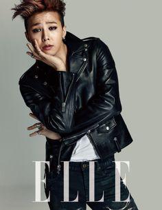 G-Dragon - Elle Magazine February Issue '14