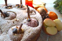 Dieses leckere Bratapfelkuchen-Rezept gibt es auf meinem Blog auf sabrinaharth.com