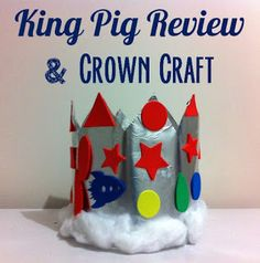 What a wonderful crown to make after reading the book King Pig. Picture Story Books, Crown Crafts, Bee Book, Going For Gold, Preschool Literacy, Library Lessons, Book Week, Fathers Day, Activities For Kids