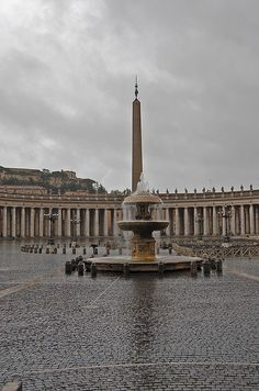 St Peter's Courtyard, Vatican City, Italy