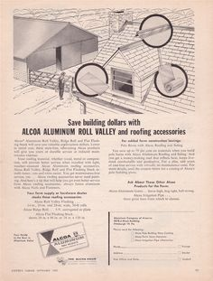Vintage ad from 1957