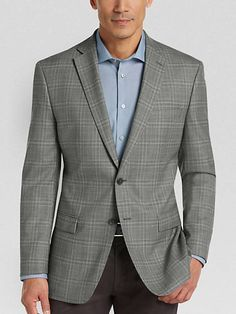 Image result for grey window pane plaid sports jacket