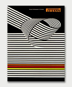 Pirelli Review Cover | Franco Grignani | Graphis Annual 68/69
