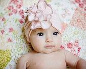 petite rose SNUGARS headband baby toddler infant newborn girls head band in. via Etsy.