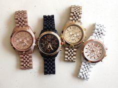 Free Post - 2015 new fashion geneva watch japan quartz movement watch classic wrist watch