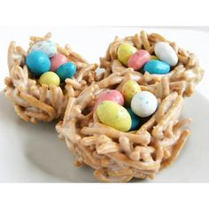Bird's Nests Great #Easter  #Desserts and #Sweets