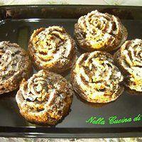 Muffin liquirizia e cioccolato