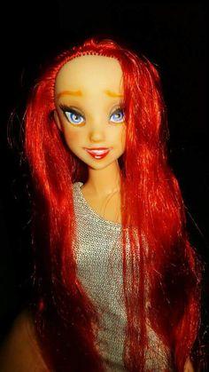 Ariel ooak repaint doll
