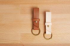 Handmade Leather Key Fob Keyring Key Chain Bautiful by MoreStraps