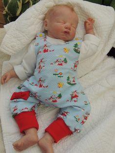 Milli Milli Bio Baby Strampler  von                 made by RiAnn   auf DaWanda.com