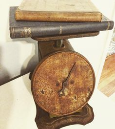 My old rusty scale addiction is insane! I've gotten several different ones over the past few months is it bad that I want more?? #ourcozycatcottage #rusty #chippy #rustic #rusticstyle #old #antiques #oldscale #vintage #vintagedecor #vintagefarmhouse #oldbooks #farm #farmdecor #farmhouse #farmstyle #farmhousedecor #farmhousestyle #farmhousechic by keeleym_ourcozycatcottage