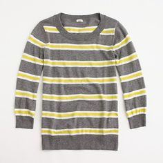 grey, yellow, and stripes - a combo of my three favorite things. and yep...i went ahead and bought it.