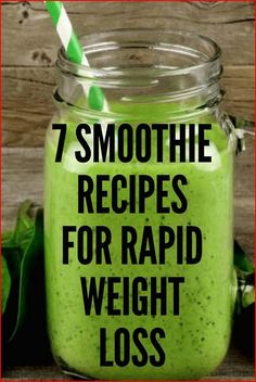 7 Natural fat burning smoothie recipes for weight loss that can help you lose weight throughout the day. Smoothies are low in fat, rich in nutrients and loaded with fiber. This makes them the perfect weight loss food for anyone trying to lose weight fast. Weight Loss Meals, Weight Loss Drinks, Weight Loss Smoothies, Detox Drinks, Healthy Drinks, Detox Juices, Healthy Eating, Healthy Meals, Healthy Desserts