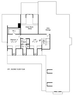 7 Best Houses images | House floor plans, Floor plans, Front ...  Hampton House Plans on