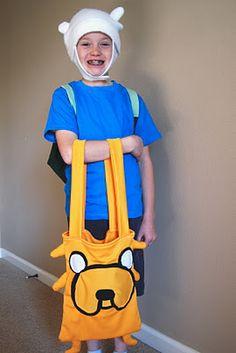 Adventure Time Costume Tutorial