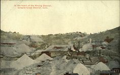 Cripple Creek District CO In the Heart of the Mining District